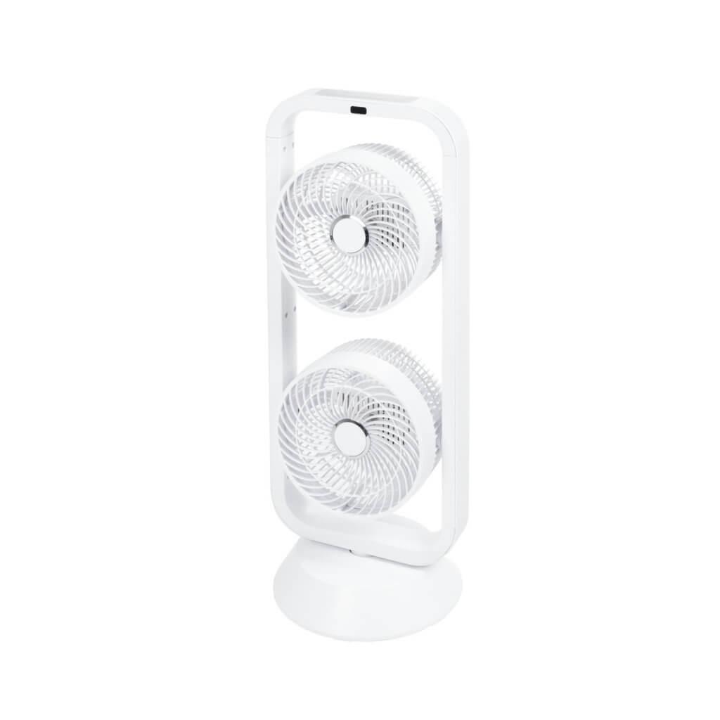8713415384840 Vento 3D double staande ventilator twee ventilatoren