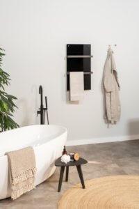 Infrarood verwarming paneel Sani 400 Wifi black sfeer