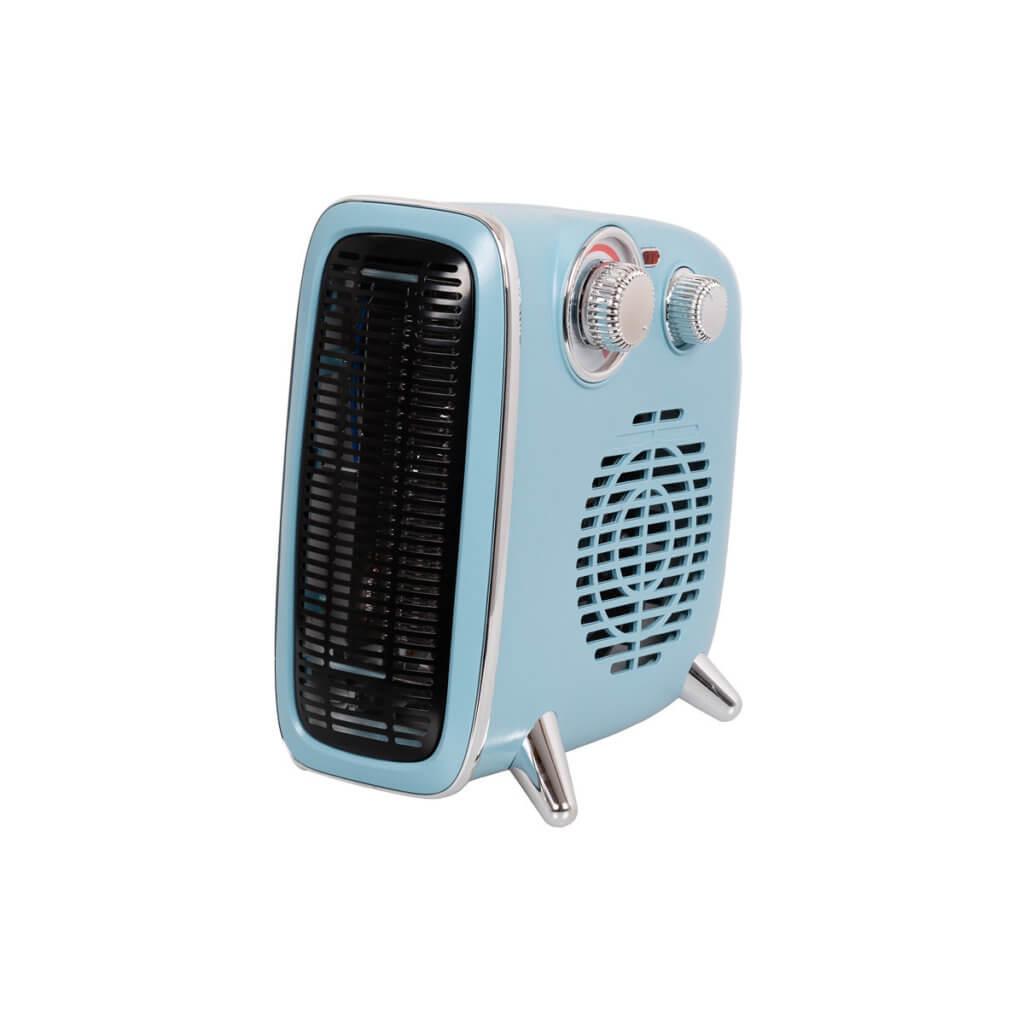 8713415352153 Eurom B-4 1800 Blue keramische kachel bij verwarming staand en liggend